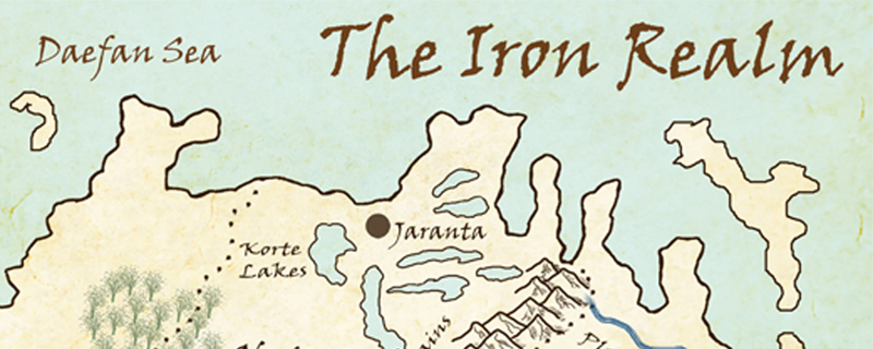 Making the Iron Realm Map