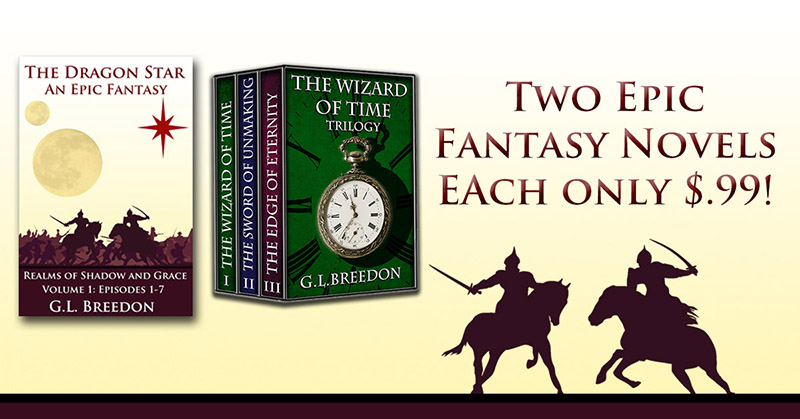 $.99 Sale – The Dragon Star and The Wizard of Time Trilogy